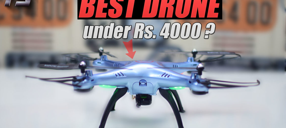 Syma X5HW   best drone under 4000 rupees in India